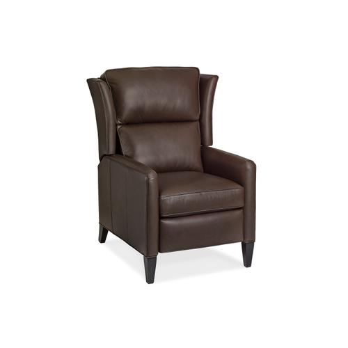 Hancock and Moore - 1180-PT SAMSON RECLINER WITH PLEATED TRACK ARM