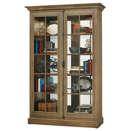 Howard Miller - Howard Miller Clawson II Curio Cabinet 670021