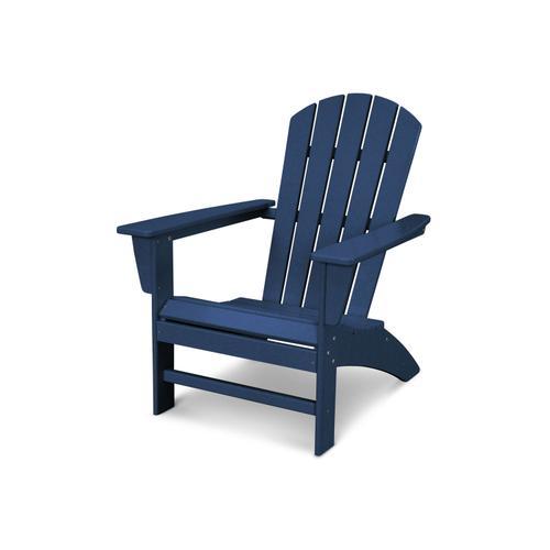 Navy Nautical Adirondack Chair