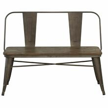 See Details - Modus Bench With Back in Gunmetal