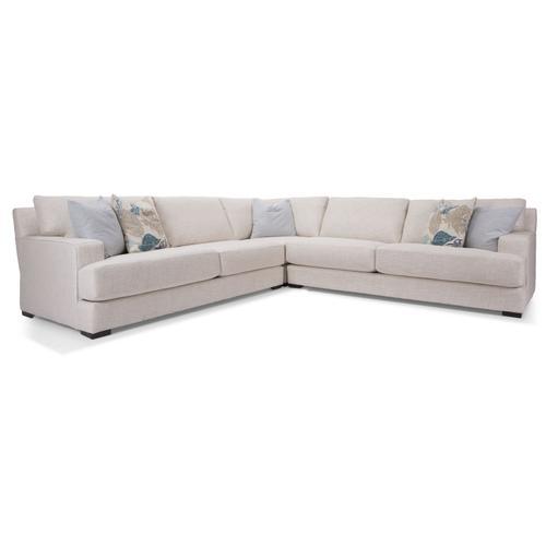 Decor-rest - 2702-16 RHF Sofa