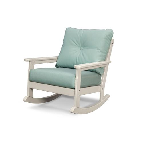 Sand & Spa Vineyard Deep Seating Rocking Chair