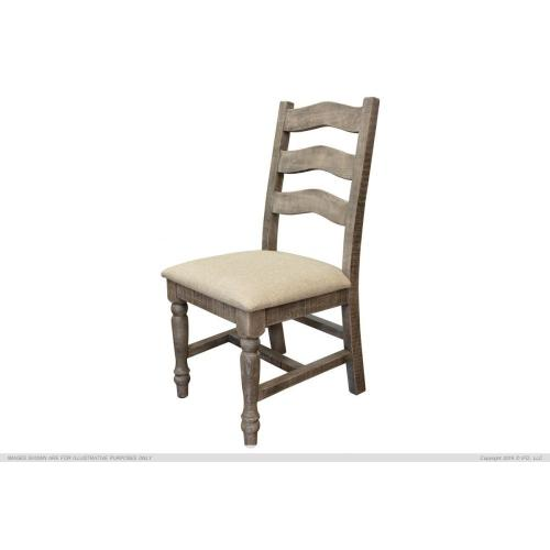 Solid Wood Chair w/fabric seat Palencia Finish