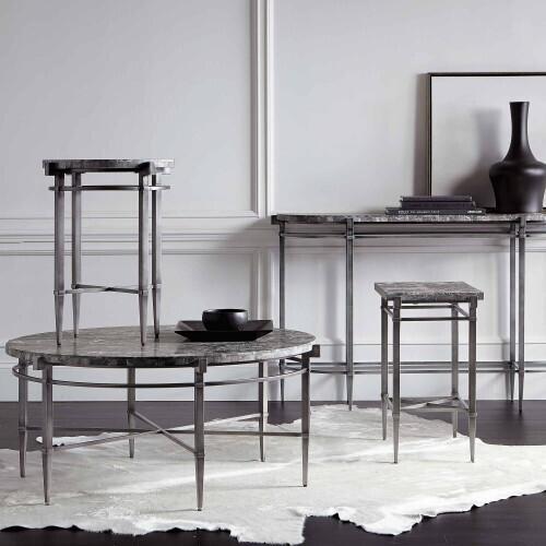 Bernhardt - Mariposa Round Drink Table