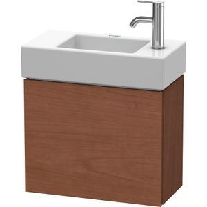 Vanity Unit Wall-mounted, American Walnut (real Wood Veneer)