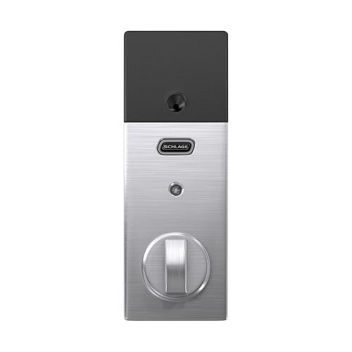 Schlage Connect Smart Deadbolt with alarm with Century trim, Z-wave enabled - Satin Chrome
