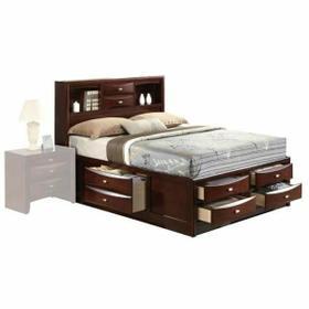 ACME Ireland Full Bed w/Storage - 21590F - Espresso