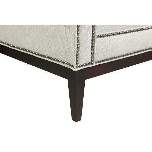 See Details - Greek Key Arm with Tight Seat Bench