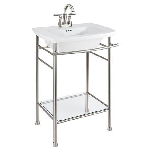 American Standard - Edgemere Centerset Bathroom Faucet  American Standard - Brushed Nickel