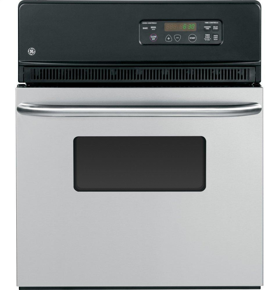 """GE24"""" Electric Single Standard Clean Wall Oven"""