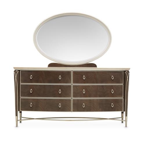 Storage Console- Dresser & Mirror