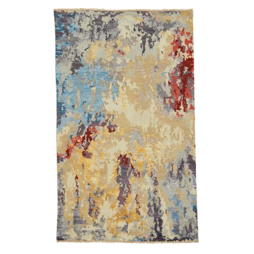Tasanee Amber Multi Hand Knotted Rugs