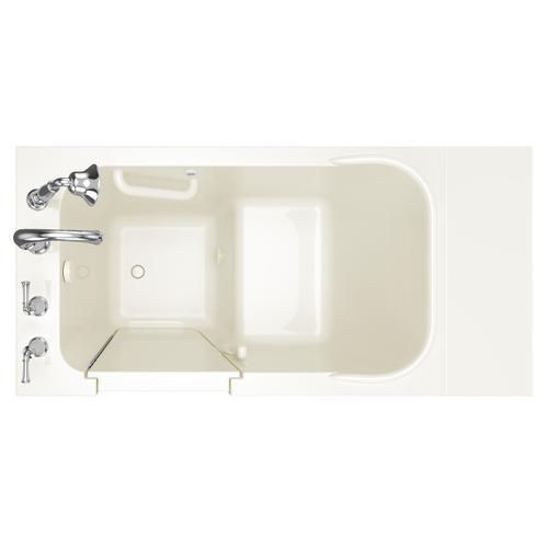 Gelcoat Value Series 28x48-inch Walk-in Soaking Tub  American Standard - Linen