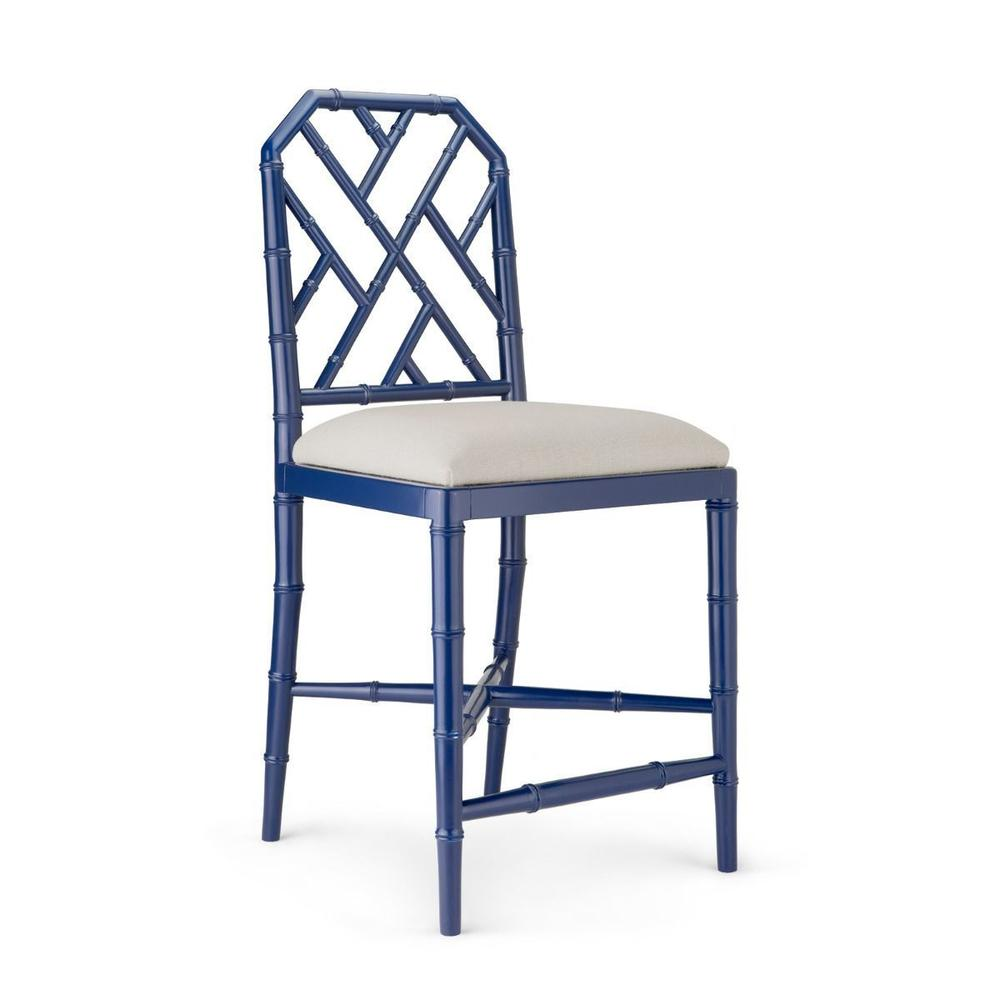 Jardin Counter Stool, Navy Blue