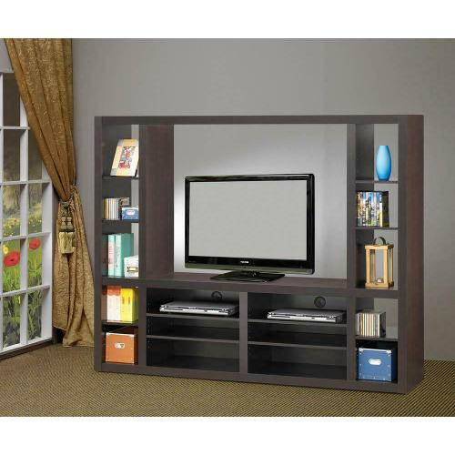 Product Image - Contemporary Cappuccino Entertainment Unit