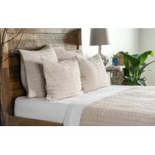Heirloom Quilt Natural Standard Sham 20x26