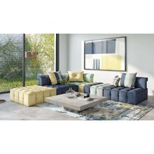 View Product - Divani Casa Dubai - Modern Multicolored Fabric Modular Sectional Sofa