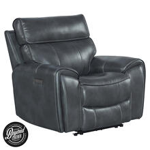 Summit Dual-Power Recliner  Bolero Slate