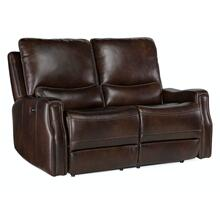 Living Room Gage Power Recline Loveseat with Power Headrest