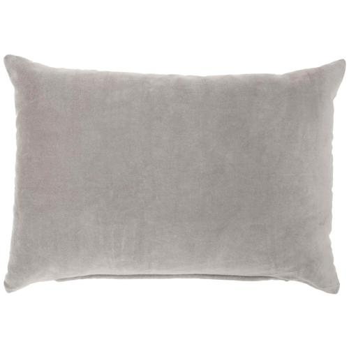 "Life Styles Ss900 Grey 14"" X 20"" Throw Pillow"
