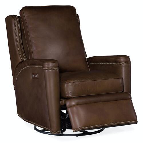 Living Room Rylea PWR Swivel Glider Recliner