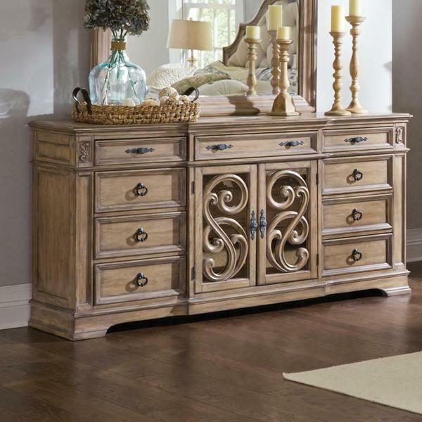 See Details - Ilana Traditional Nine-drawer Dresser