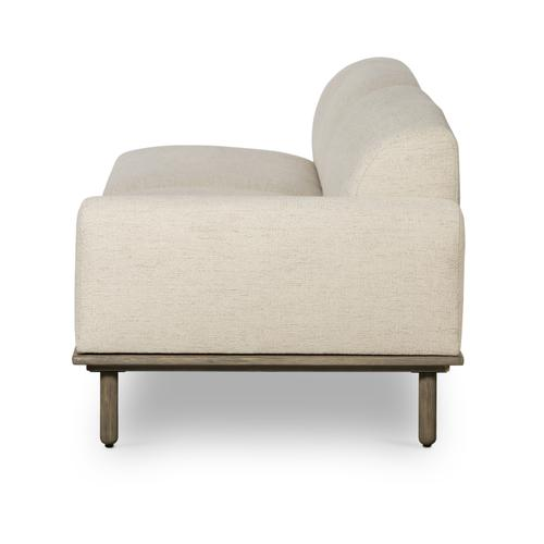 Encino Bisque Cover Left Arm Facing Configuration Clark Sofa W/ Table