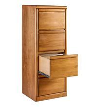 See Details - Forest Designs Bullnose Alder Four Drawer File: 22W x 56H x 21D