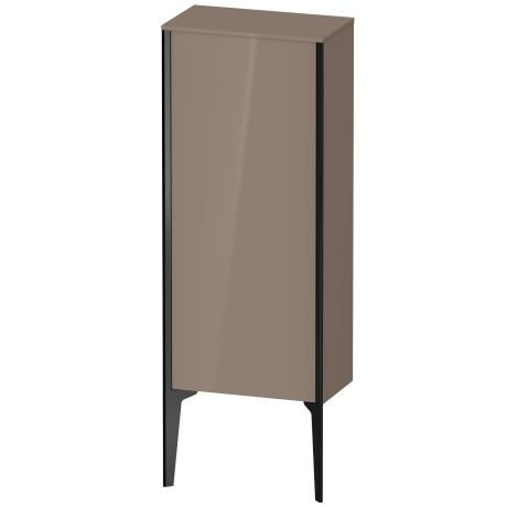 Product Image - Semi-tall Cabinet Floorstanding, Cappuccino High Gloss (lacquer)
