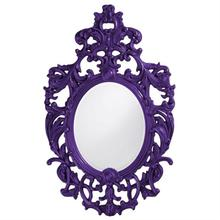 View Product - Dorsiere Mirror - Glossy Royal Purple