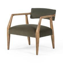 See Details - Modern Velvet Loden Cover Tyler Arm Chair