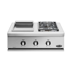 "30"" Series 7 Griddle/double Side Burner, Natural Gas"