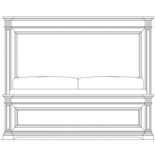 Stanley Furniture - Portico Panel Bed - Shell / California King
