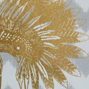 Gold Foil War Bonnet- Small