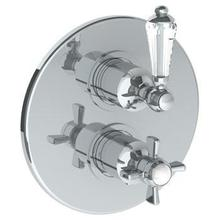"""View Product - Wall Mounted Thermostatic Shower Trim With Built-in Control, 7 1/2"""""""