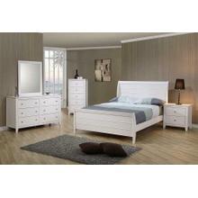 Selena Coastal White Full Five-piece Set