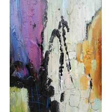 See Details - Modrest ADC5137 - Abstract Oil Painting