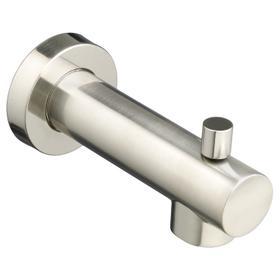 Serin Slip-On Diverter Tub Spout - Brushed Nickel