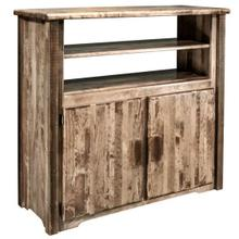 See Details - Homestead Collection Media Center, Stain and Lacquer Finish