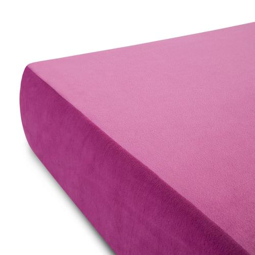 Brighton Bed Gel Memory Foam Mattress Twin Pink