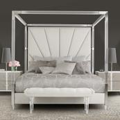 Cal King Canopy Bed (4 Pc)