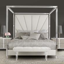 See Details - Cal King Canopy Bed (4 Pc)