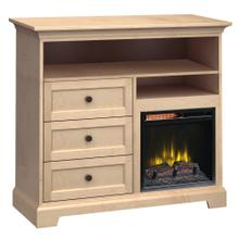 See Details - FT46H Extra Tall Fireplace Custom TV Console