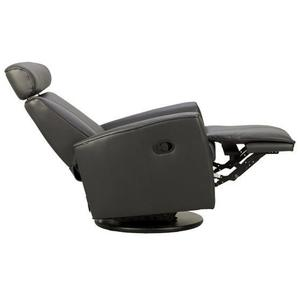 Admiral R Manual Small Recliner With Footstool