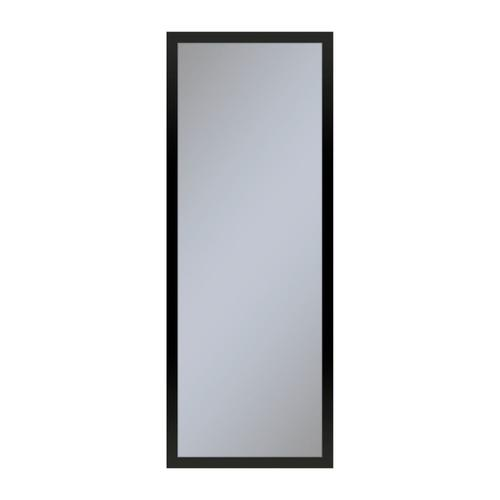 """Profiles 11-1/4"""" X 30"""" X 4"""" Framed Cabinet In Matte Black With Electrical Outlet, Usb Charging Ports, Magnetic Storage Strip and Left Hinge"""