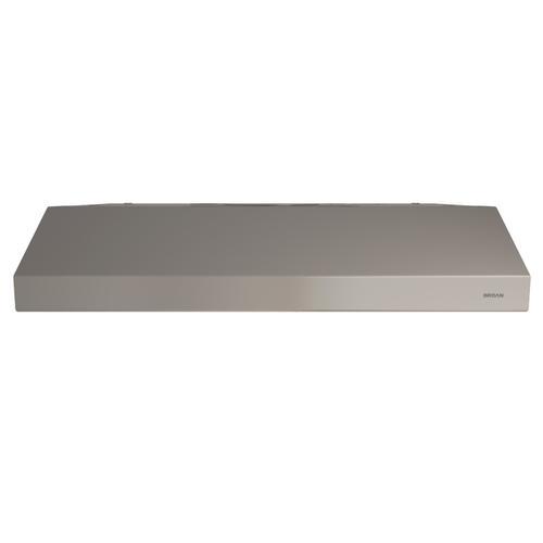 Broan® 30-Inch Convertible Under-Cabinet Range Hood, 250 CFM, Slate