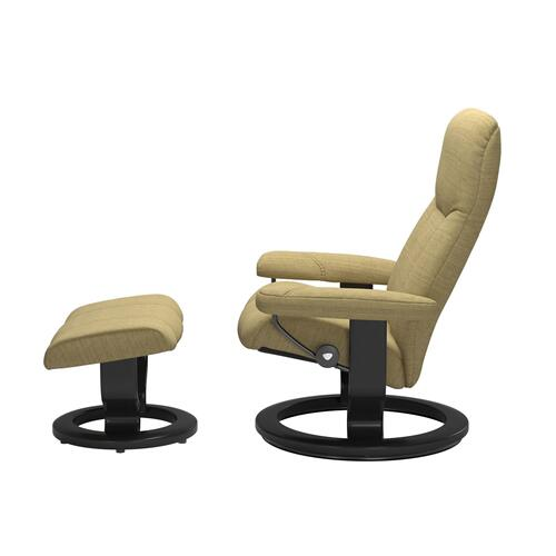 See Details - Stressless® Consul (M) Classic chair with footstool