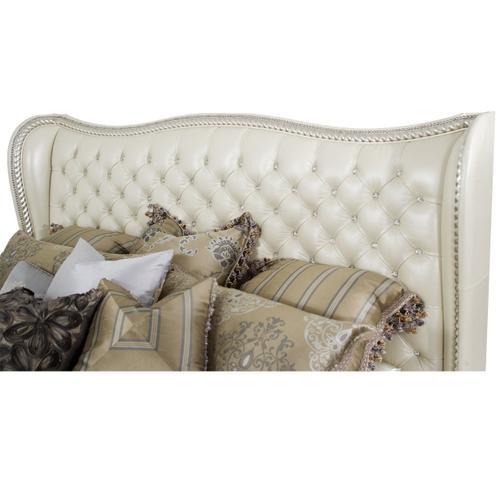 Cal King Upholstered Bed (2 Pc)