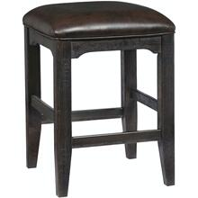 See Details - Lager Gathering Stool with Metal Legs-Stout