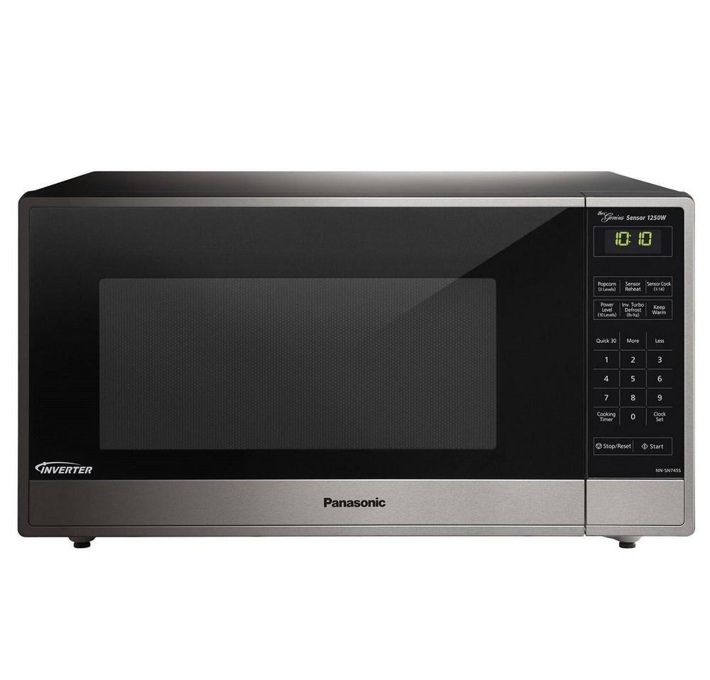 Panasonic1.6 Cu. Ft. Built-In/countertop Microwave Oven With Inverter Technology - Stainless Steel - Nn-Sn745s